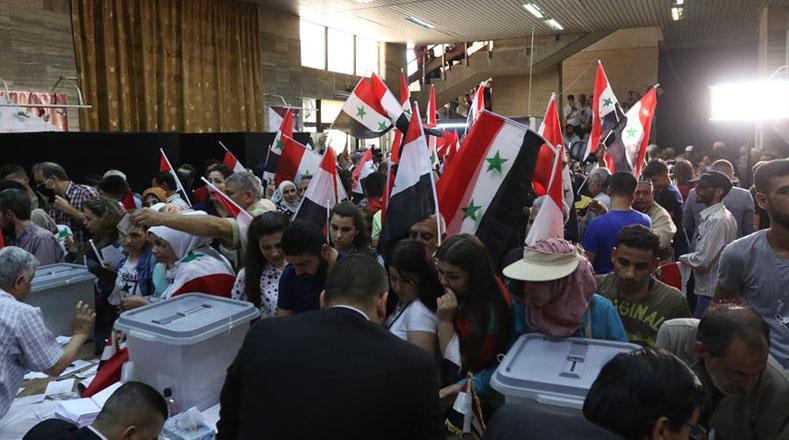 Mas de 18 millones de Sirios  acudieron a los  comicios presidenciales