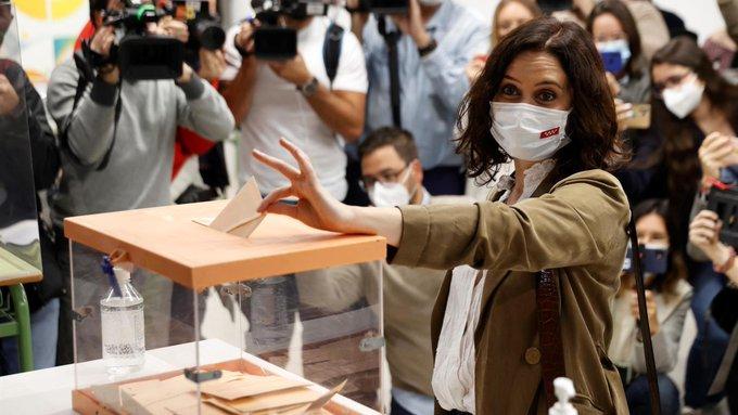 España: Arrancan  votaciones en Madrid para elegir nuevo gobierno