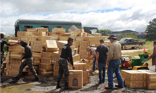 Reconoce Cohep:  Estado lucha por mitigar el impacto del contrabando