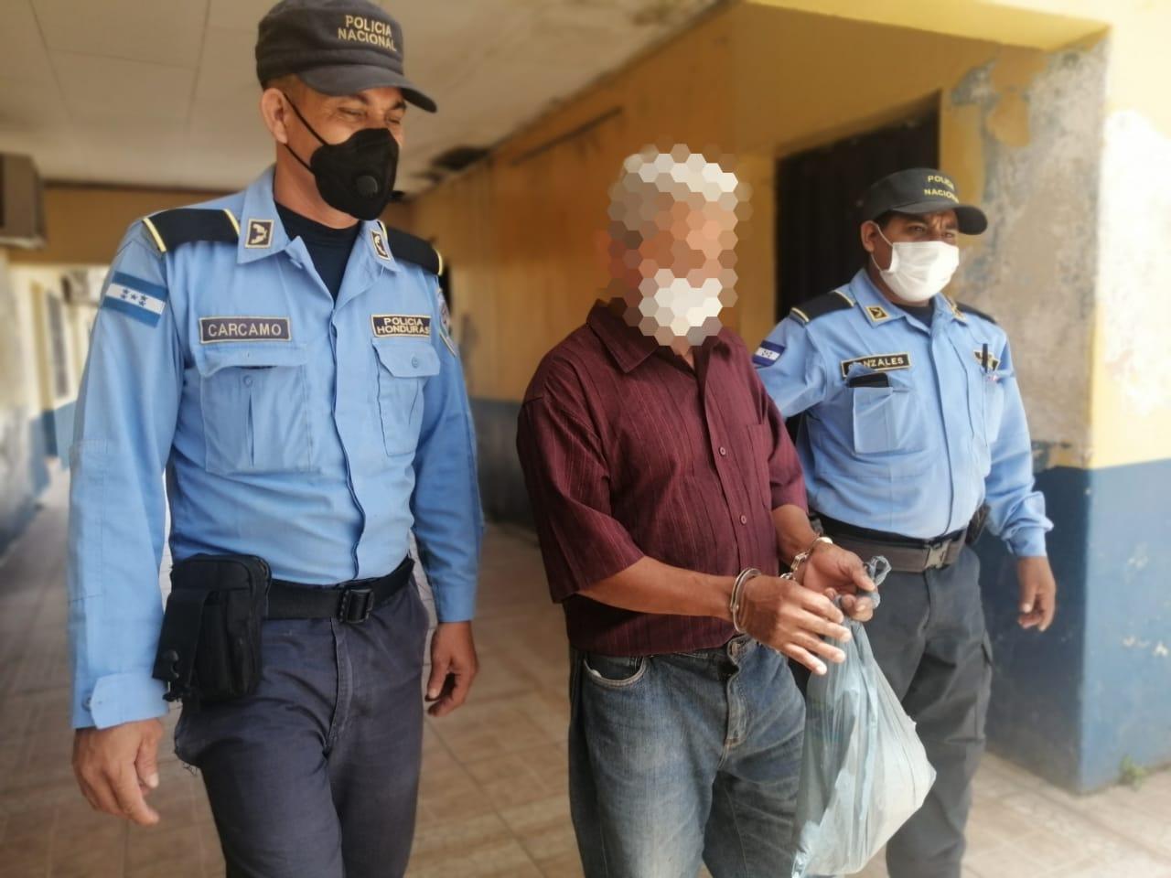 Capturan a sujeto que violó a su hija de 11 años en Danlí