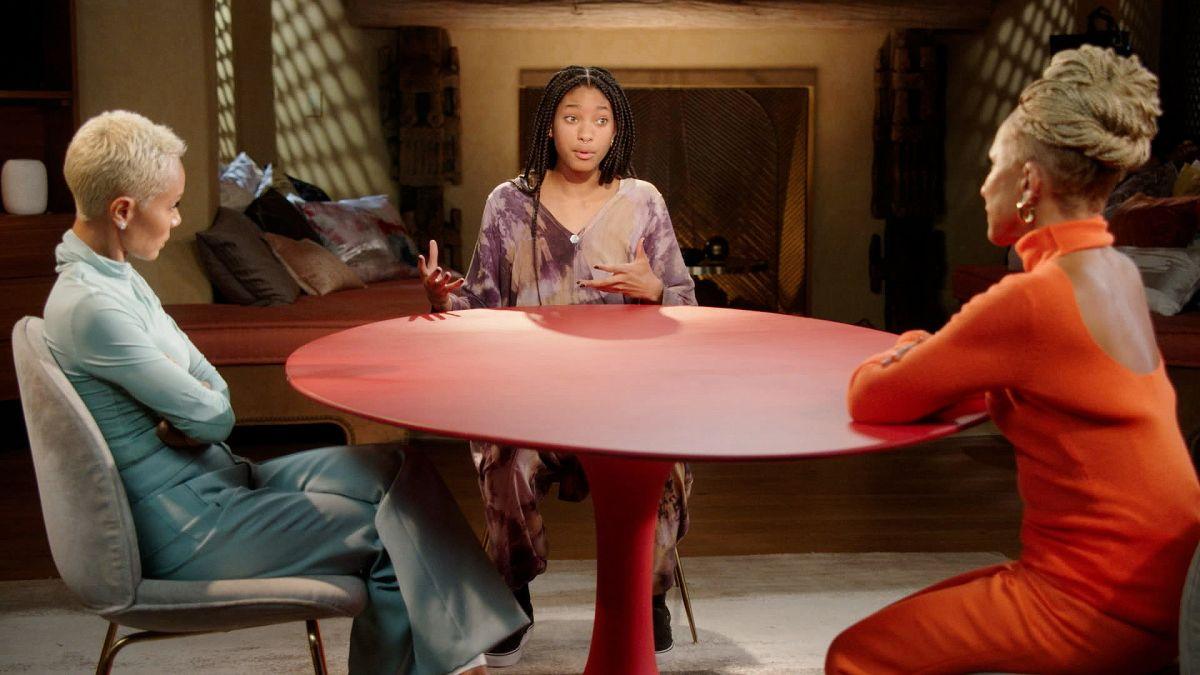 Willow Smith conversa con su mamá y abuela sobre el «poliamor»