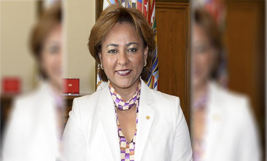 """Ex designada Lorena Herrera es la candidata presidencial por la alianza """"Todos por el Cambio"""""""