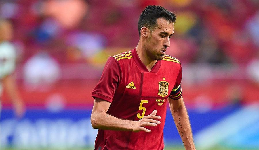 Sergio Busquets se perderá la «Eurocopa» por resultar positivo a Coronavirus