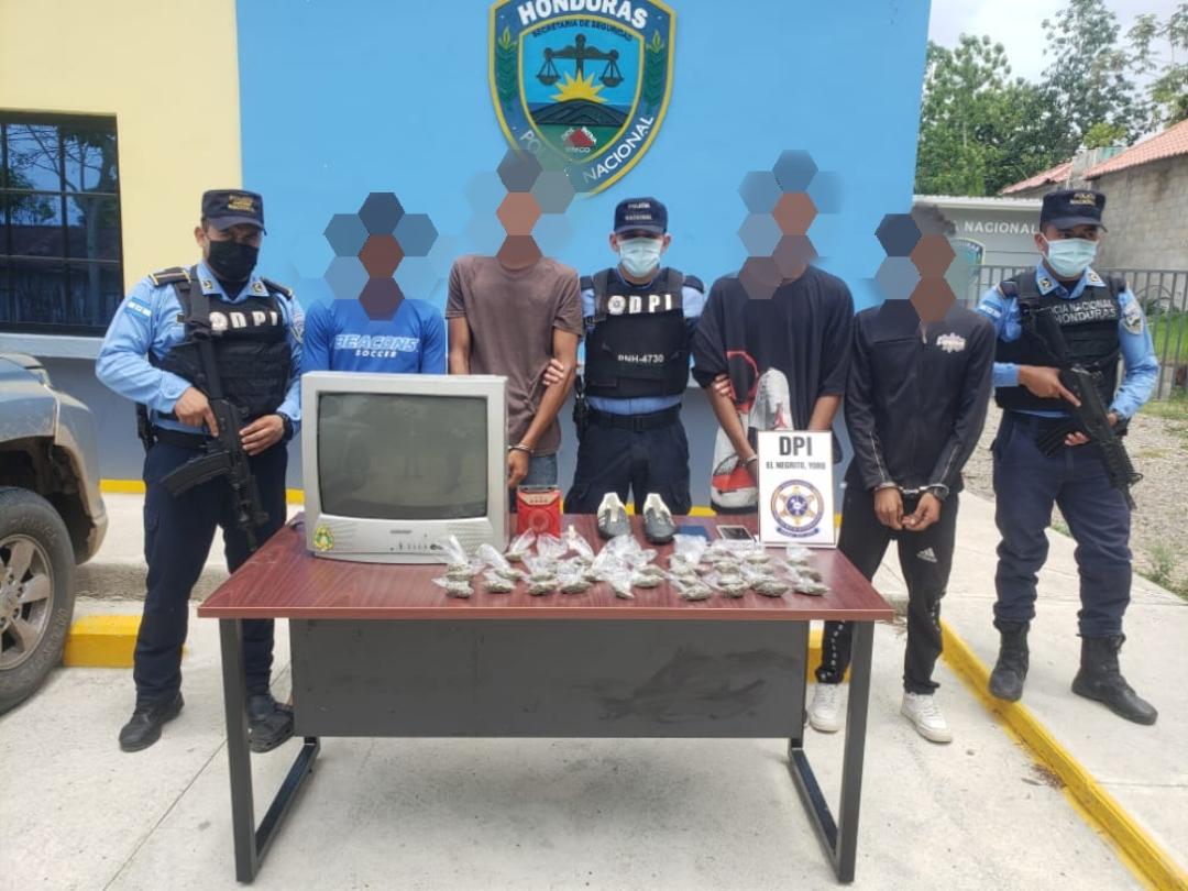 Autoridades capturan a integrantes de banda «Los Ramos» en Yoro