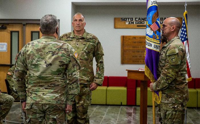 Nombran a Steven Gventer como nuevo Comandante de la Fuerza de Tarea Conjunta-Bravo de EEUU