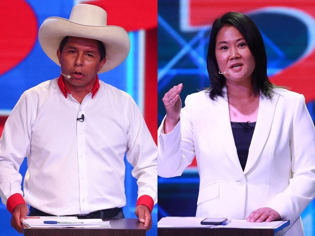 Castillo reduce su ventaja sobre Fujimori en elecciones peruanas con el 99.7% de los votos