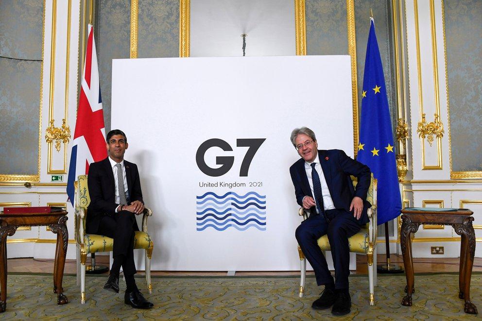 El G7 acordó un impuesto del 15% a las empresas multinacionales