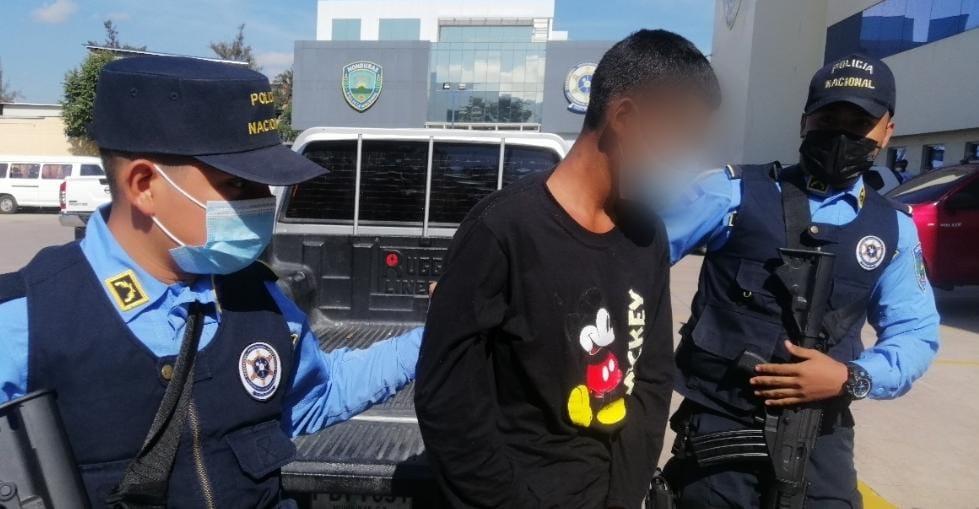 Capturan a miembro activo de la pandilla 18 por la muerte violenta de una estudiante del Instituto Central
