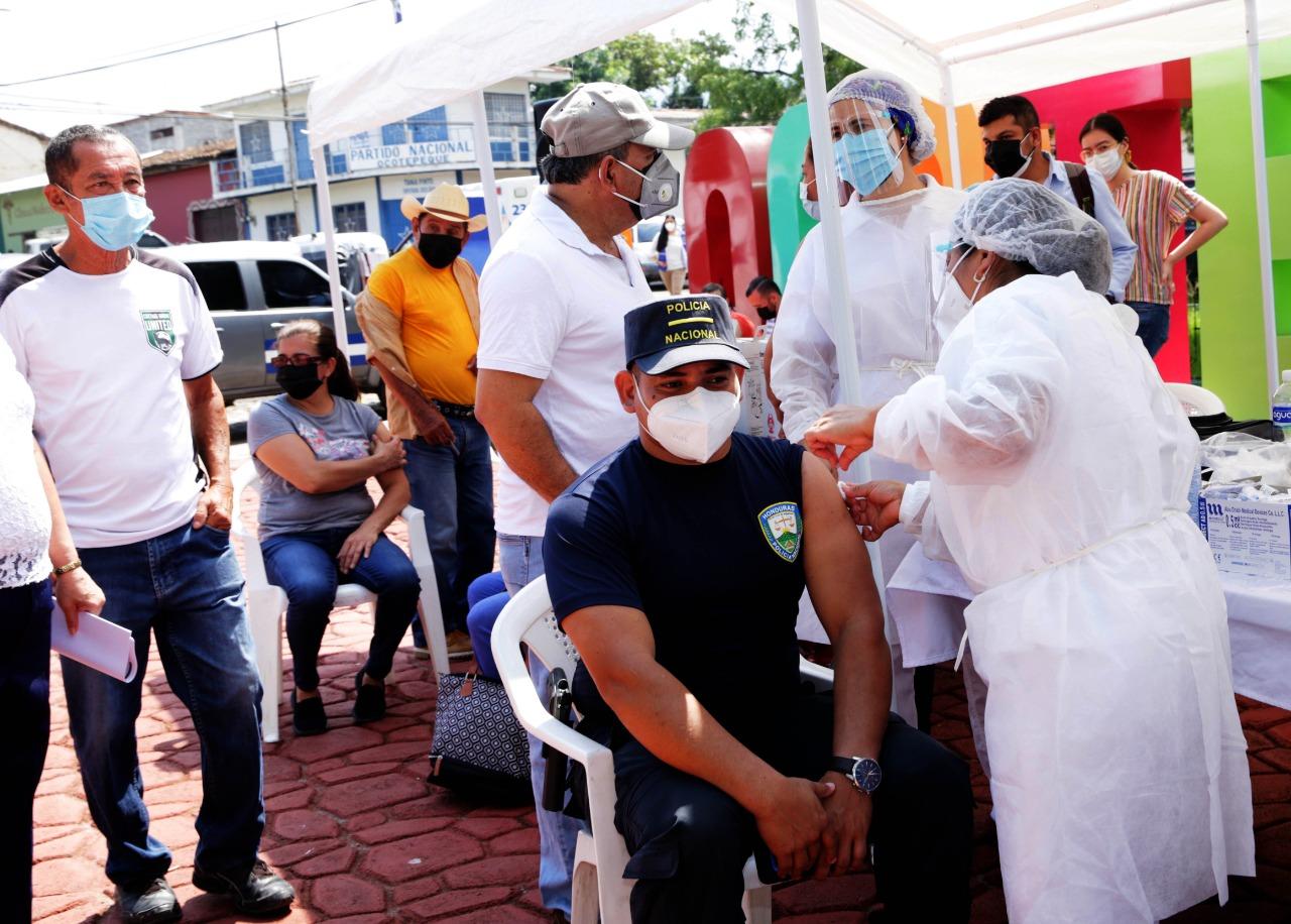 Continúa campaña nacional de inmunización en Ocotepeque