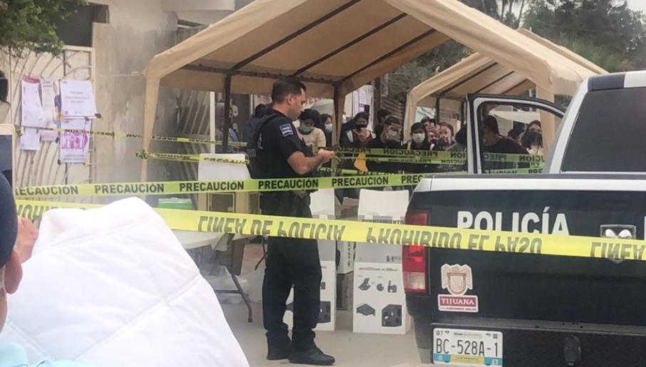 ¡Terror! dos cabezas humanas son lanzadas en centros de votación en Tijuana, México
