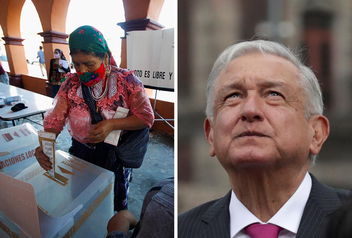 De acuerdo a los conteos rápidos en México, AMLO ganaría la mayoría de diputados